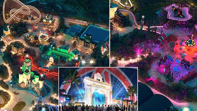 New images show 'UK Disneyland'