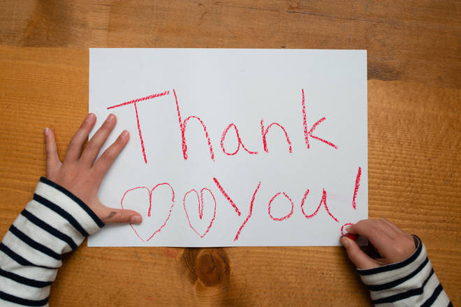 A woman's mother-in-law is furious after granddaughter didn't send a thank you note