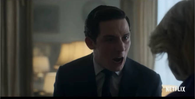 Charles is seen yelling at Diana in the new trailer