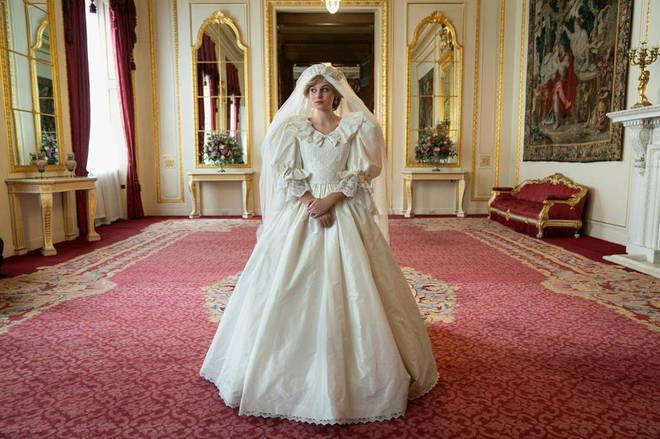 The Crown stars Emma Corrin as Princess Diana