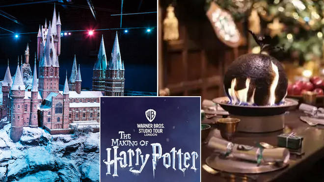 The Warner Bros Studio will be getting into the festive spirit