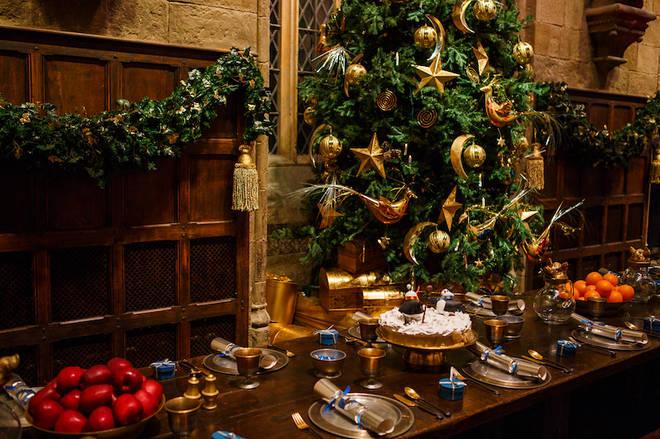 Hogwarts will get a Christmas makeover this November