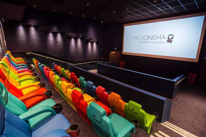 MediCinema is a cinema experience within a hospital setting