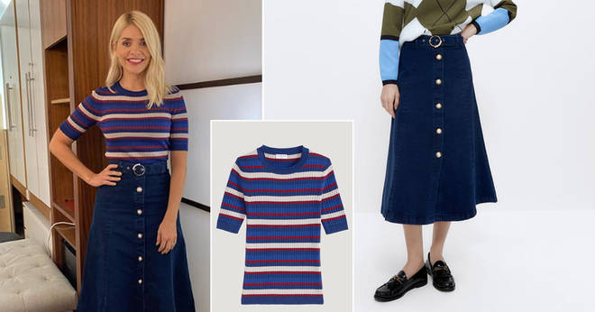 Get Holly Willoughby's This Morning outfit