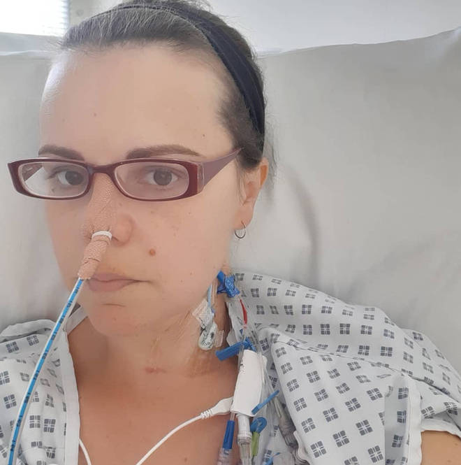 Dr Philippa spent 10 days in ICU after undergoing major surgery