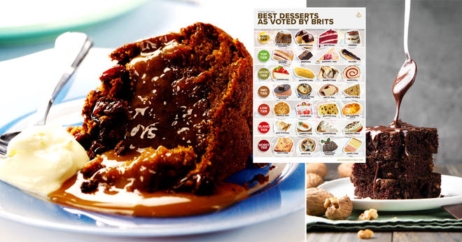 Sticky Toffee pudding has been crowned the best dessert