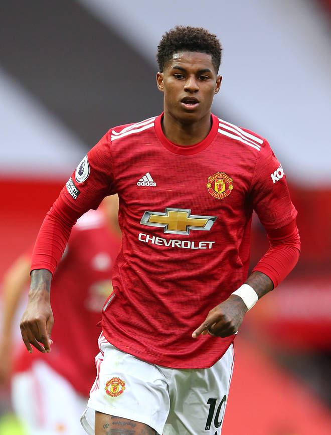 Marcus Rashford has been campaigning for support for struggling families