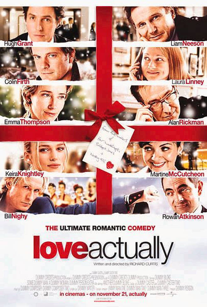 The film, by Richard Curtis, came out in 2003 and is still a Christmas favourite