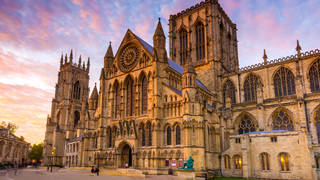 York Minster is at the heart of the city, and is a fascinating place to visit