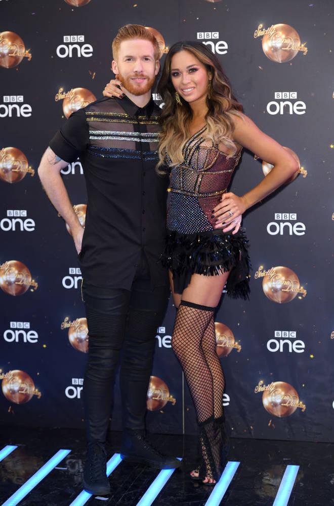 strictly Katya and Neil Jones