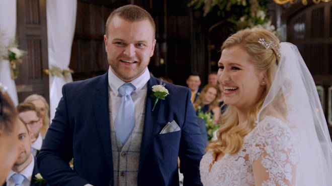 Owen and Michelle got married at the end of March