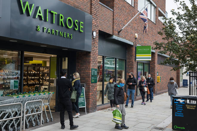 Waitrose and John Lewis has also banned glitter from it's festive products