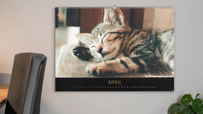 Personalised calendar by CEWE