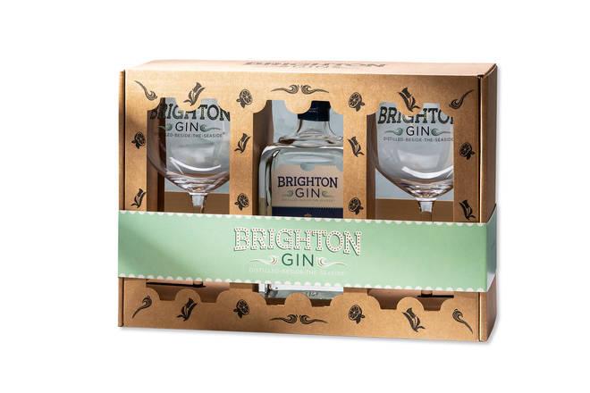 Brighton Gin's gift set