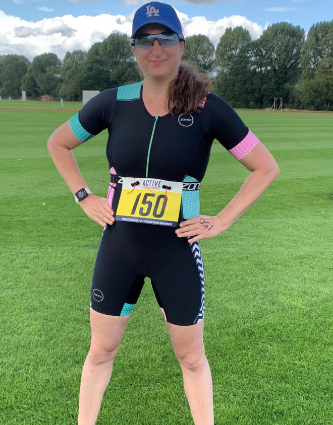 Honey G has been running, doing yoga and taking part in triathlons