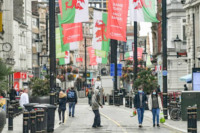 The Welsh lockdown will start on Friday