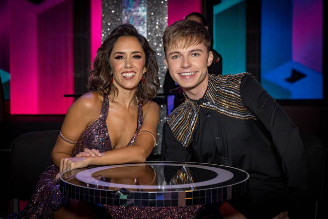HRVY is paired with Janette Manrara on Strictly