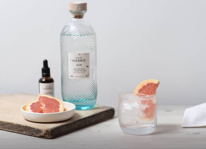 Try this smooth Scottish gin poured over ice and served with grapefruit