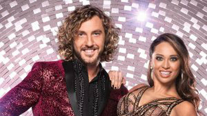 Seann Walsh and his dance partner Katya Jones