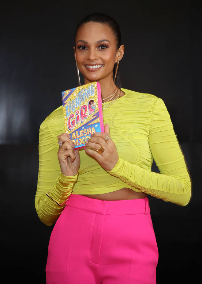 Alesha Dixon Launches Her First Book 'Lightning Girl'
