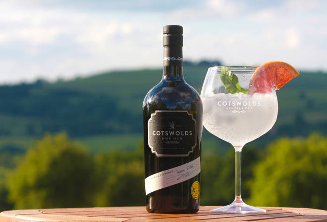 This is the base of Cotswolds Gin's other beautiful gins