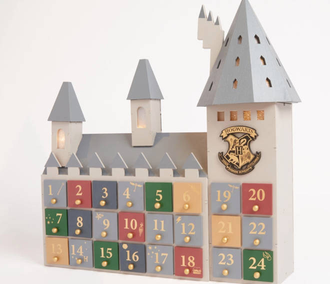 The advent calendar has 24 draws, which can be filled with any sort of treat