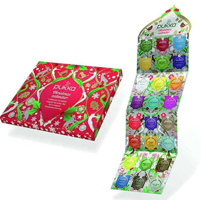 Pukka Herbs Tea Advent Calendar, £8.99