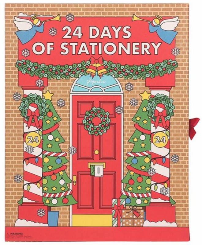 Paperchase's Stationary Advent Calendar