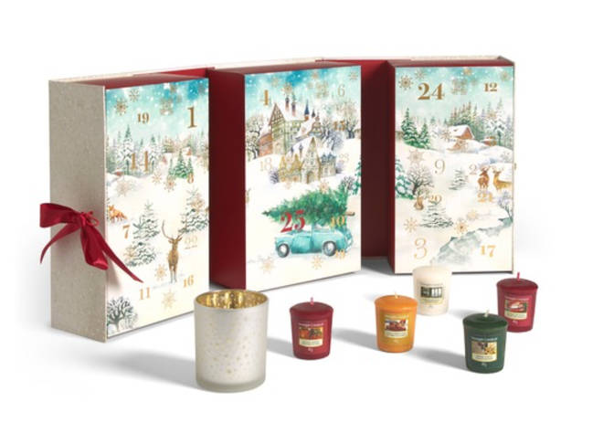 Yankee Candle Advent Calendar, £39.99