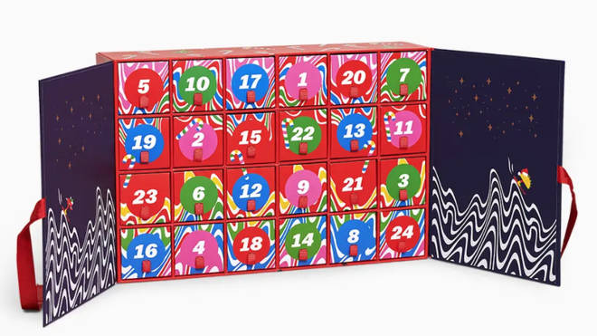Sock Advent Calendar by Happy Socks