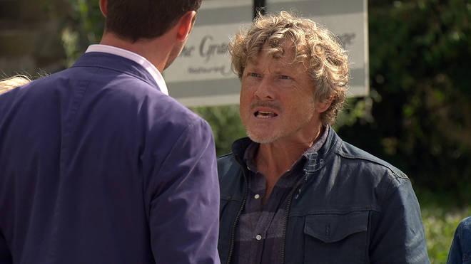 Mark Jordan plays Daz Spencer in Emmerdale