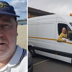 Mickey Thompson is now working for his own removal company