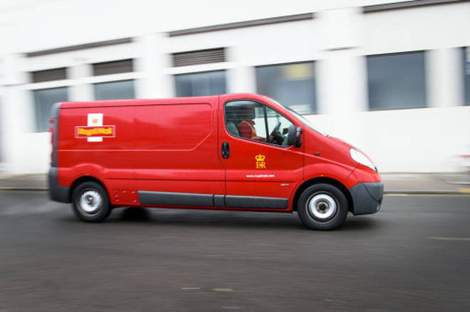 Postmen will pick up the parcels from your doorstep