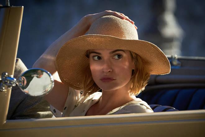 Rebecca stars Lily James