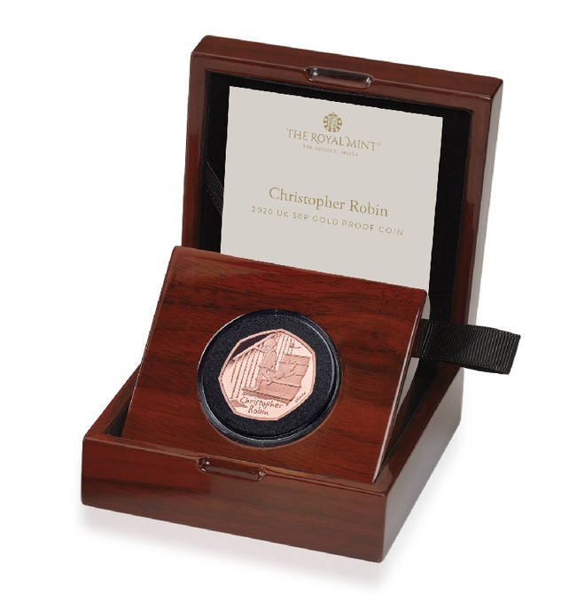 The Gold Proof Coin will set you back £1,125