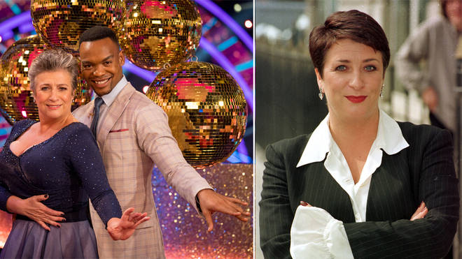 Caroline Quentin is starring on Strictly Come Dancing