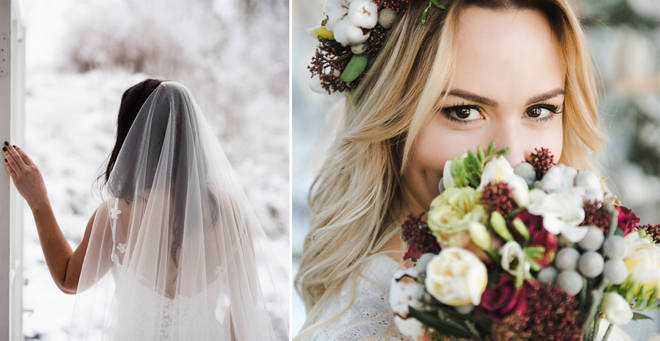 The bride has been slammed on social media (stock images)