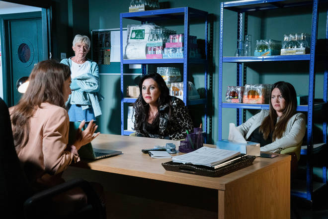 The EastEnders cast have to follow strict social distancing rules