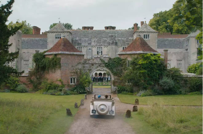 Manderley was filmed in eight different locations