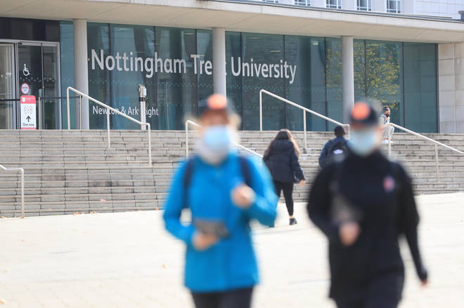 Nottingham University have warned other students they will take action if they need to
