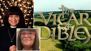 Dawn French teases Christmas Vicar of Dibley reunion