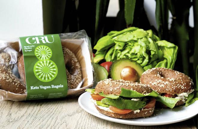 Keto Vegan Sesame Seed Bagels