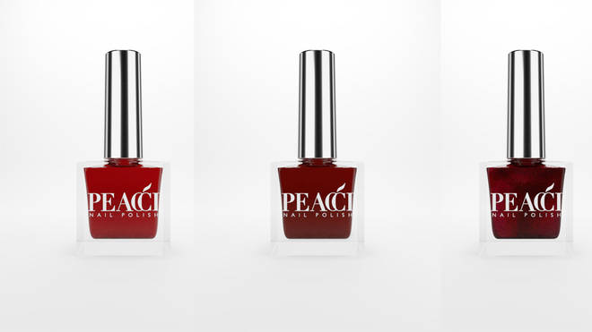 Peacci Christmas nail polishes