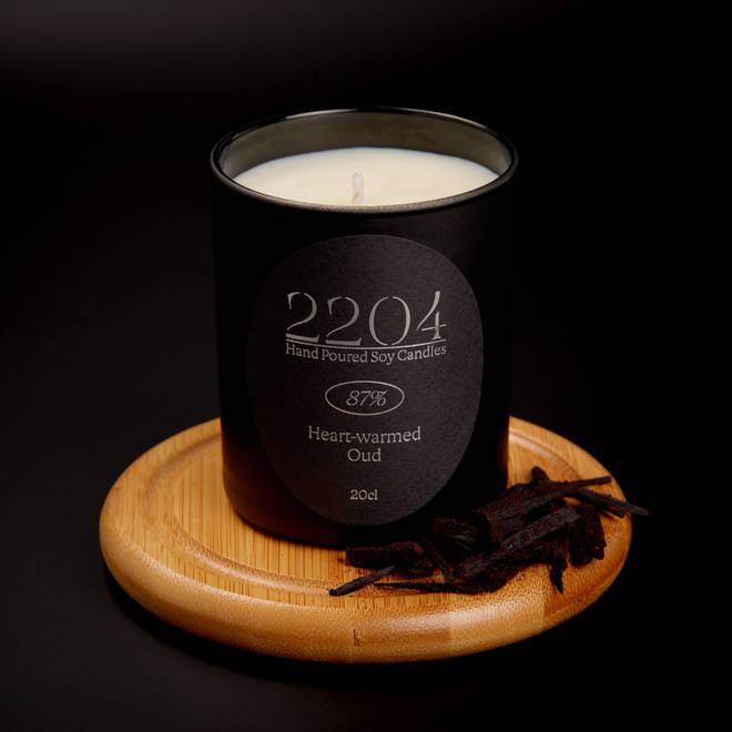 87% 2204 candle