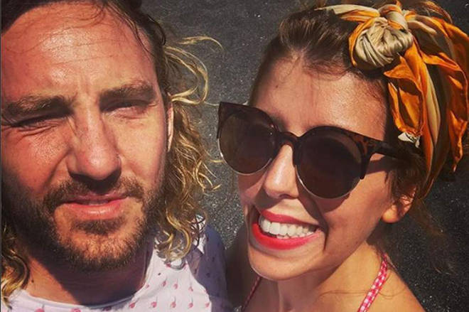 Strictly's Seann Walsh and Rebecca Humphries