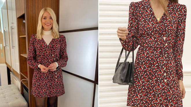 Holly Willoughby's dress is from Rouje