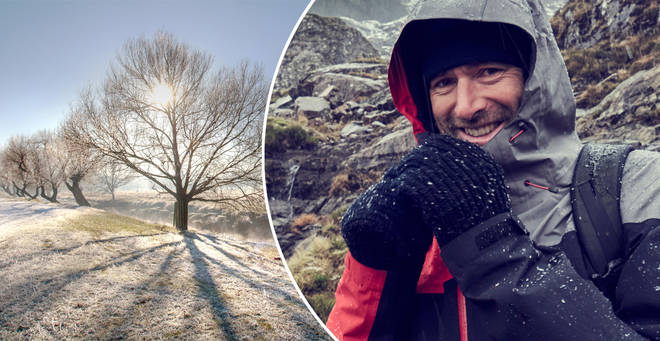It's about to get *very* cold... (stock images)