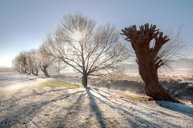 Wintery weather is settling into the UK (stock image)