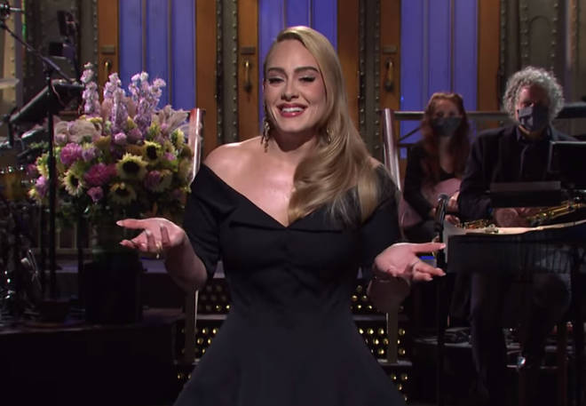 Adele looked gorgeous as she hosted SNL this weekend