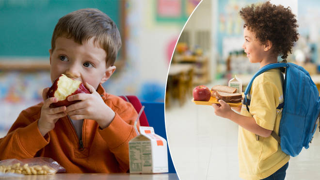 Some children qualify for free school meals during term time